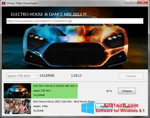 Screenshot Ummy Video Downloader Windows 8.1